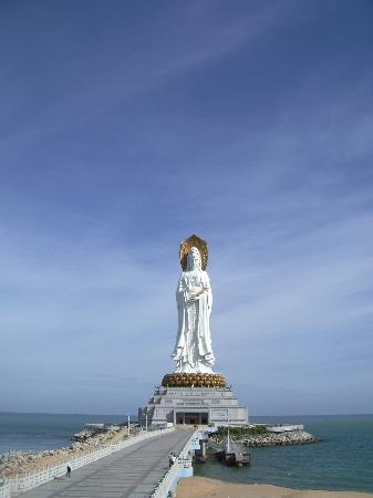 Hainan, China: nanshan Temple