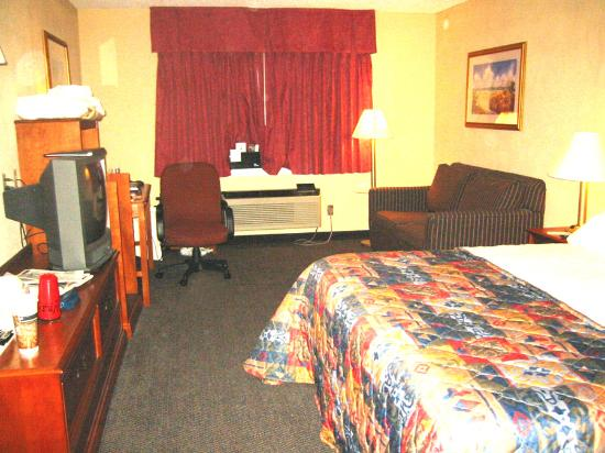 Quality Inn Cedar Point: big rooms