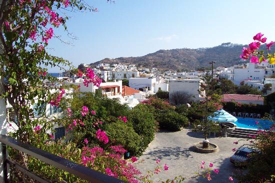 Skala Hotel: View from balcony