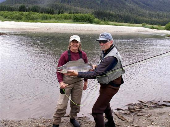 Glacier Bay's Bear Track Inn: First fly fishing trip ever