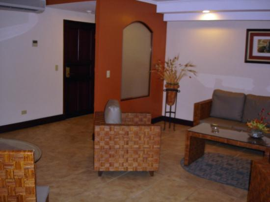 Hotel Presidente: Entry Room