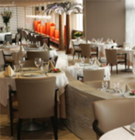 Vatel Hôtel & Spa : Restaurant on 6th floor, Palmiers