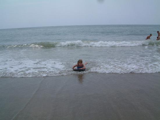 Emerald Isle, North Carolina: Boogie boarding