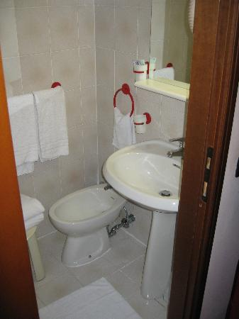 Hotel Europa: Here's a pic of the bathroom