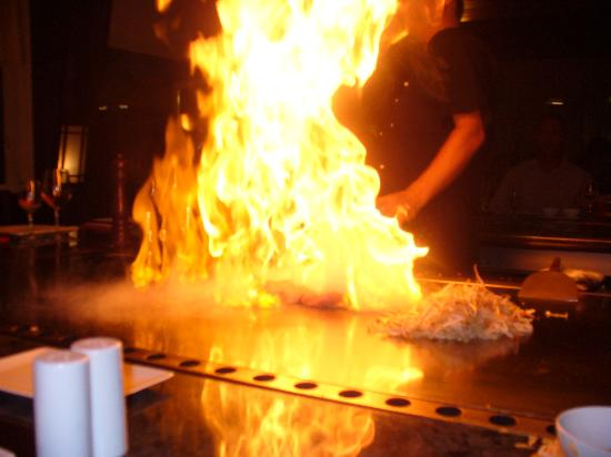 Royal Palm Apartments : teppanyaki