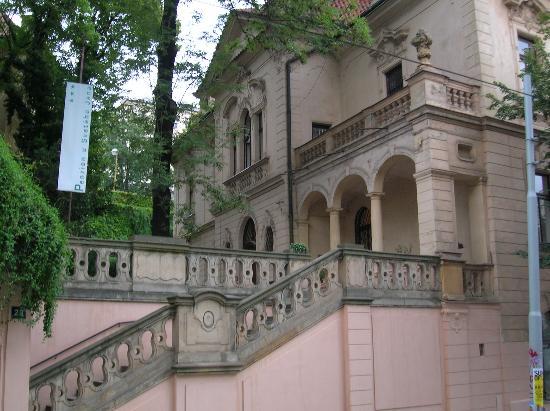 Hotel u Svateho Jana: The main entrance to the hotel