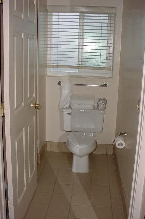 Inn off Capitol Park: Bathroom area