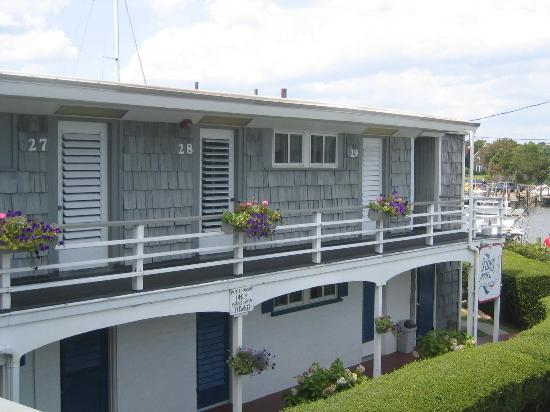 Tides Motel of Falmouth: View from the Balcony