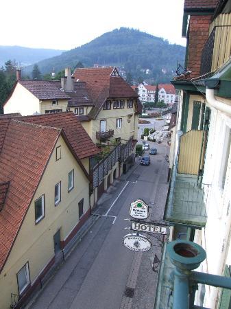 Kull von Schmidsfelden: View from balcony