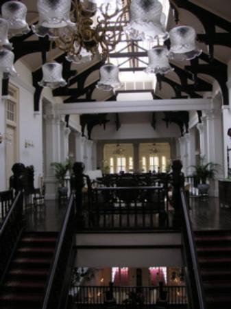 Raffles Hotel Singapore: Top floor of the Main Building