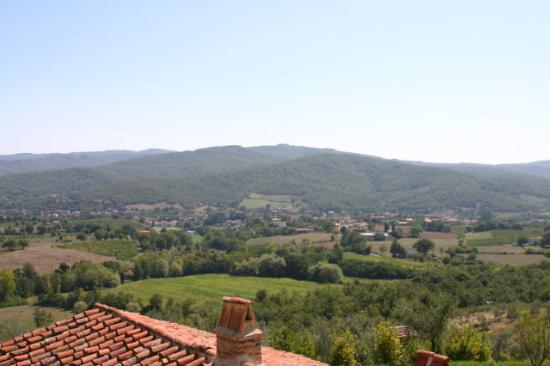 Le Case del Borgo: View from our window of Ambra Valley