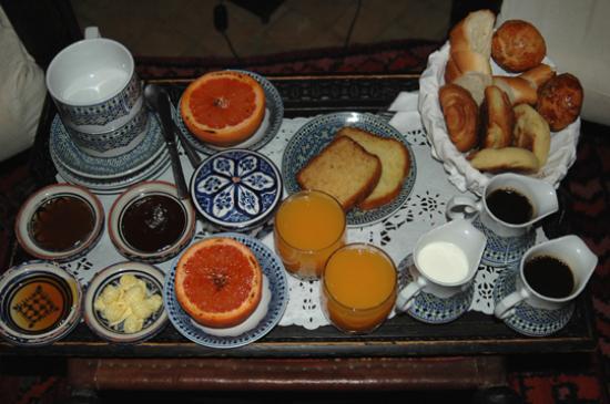 Dar Les Cigognes: Breakfast!