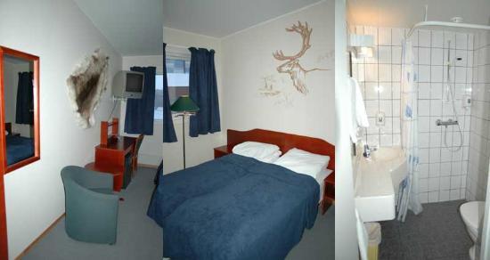 Kirkenes Hotel: Views of the rooms