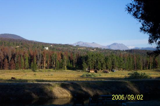 Mountain Lakes Lodge: View from the deck