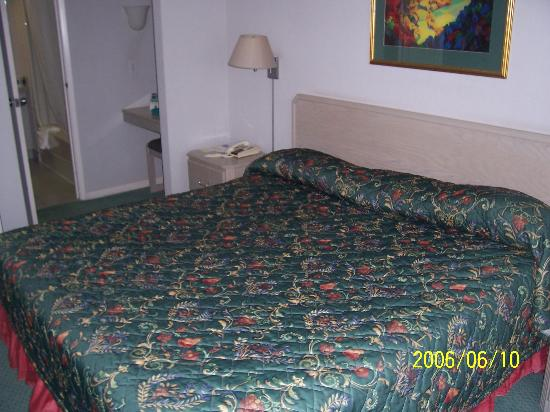 Quality Suites Montreal Aeroport: Chambre