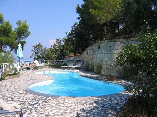 Relais Blu Belvedere: The pool area
