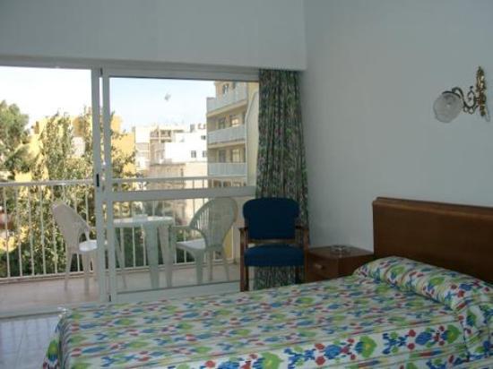 Can Pastilla, España: unser Zimmer
