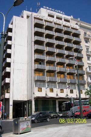 NJV Athens Plaza: Hotel Exterior