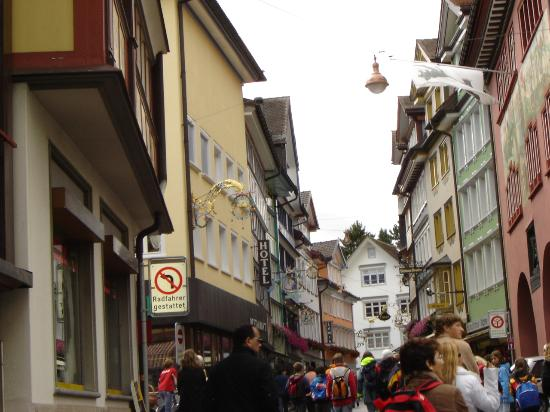 Appenzell, Suiza: Beautiful painted town