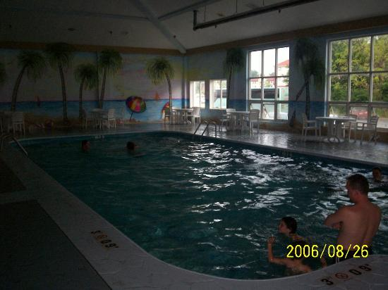 Comfort Inn Sandusky: indoor pool