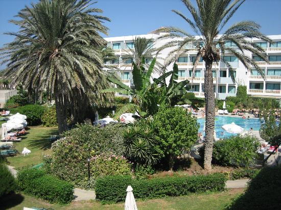 Constantinou Bros Asimina Suites Hotel : View from balcony