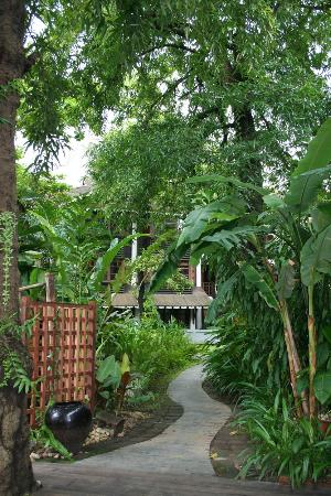 Belmond Governor's Residence: The exotic garden surrounding the rooms