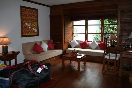 Belmond Governor's Residence: Our room - Inside