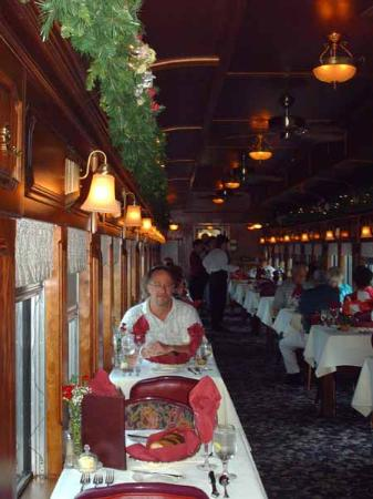 Mount Shasta Resort: Dinner train excursion