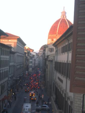 Hotel Giappone: view of the Duomo from the room's window