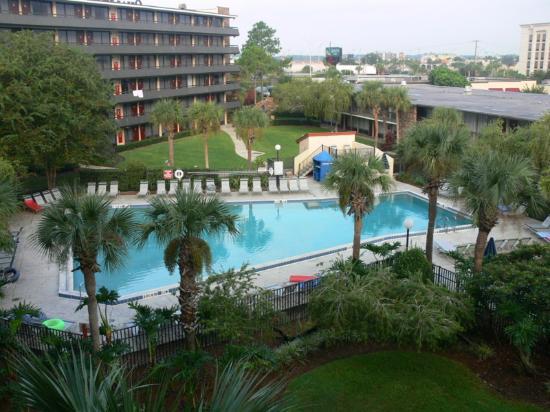 Rosen Inn International: Courtyard view