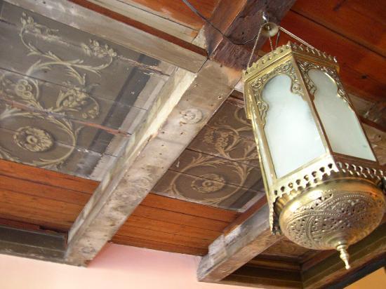Sunhead of 1617: Salmon Room - Ceiling