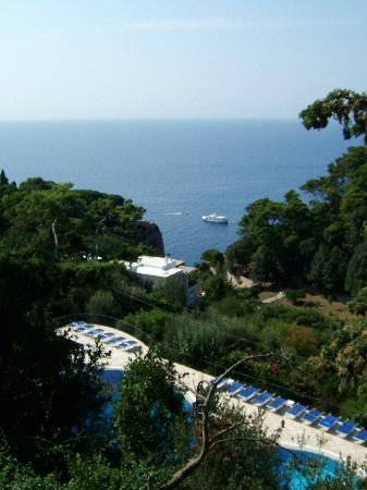 Casa Morgano: View from the Hotel to the left