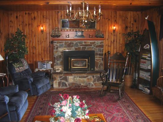 Meteghan, Kanada: A view of the lounge