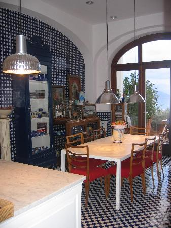 Maison La Minervetta: Breakfast area
