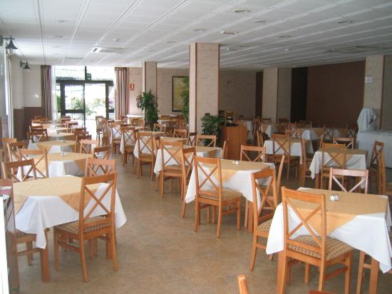 Hotel-Apartamentos Andorra: The restaurant