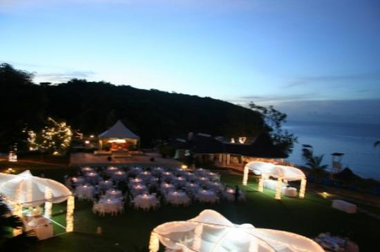 Couples Sans Souci: Starlight gala. View from third floor room - B Block