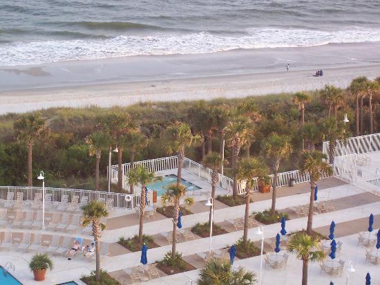 marriott outdoor jacuzzi - Picture of Myrtle Beach ...