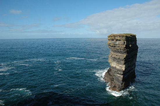 Ballina, Irlande : Downpatrick Head - March 2005