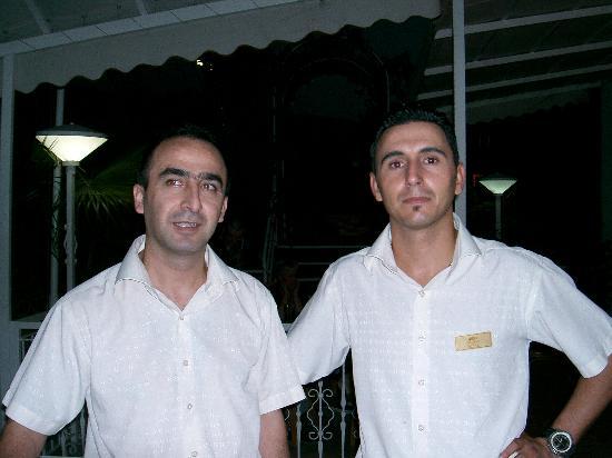 Sammy's Hotel: Turan and Aykuti