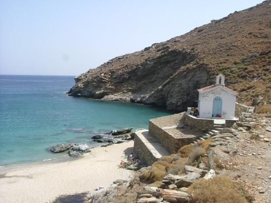 Andros, Griechenland: Achla beach - our favorite