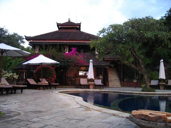 The Damai: Pool and Bar, Restaurant is the Second Floor