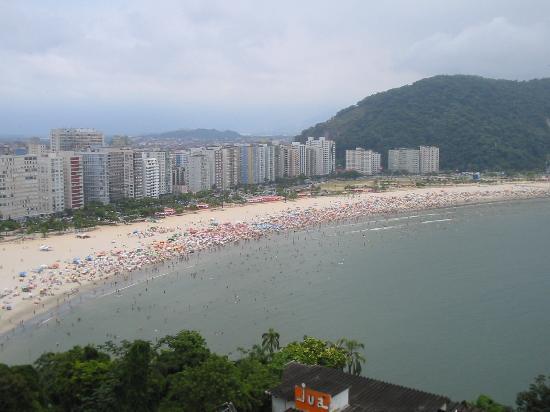 Sao Paulo, SP: The beach at Santos
