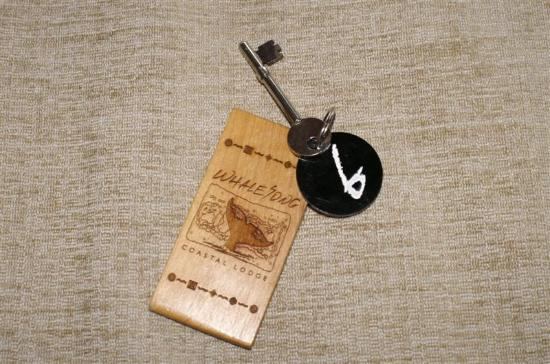 Whalesong Hotel & Spa: room key