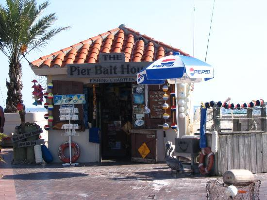 St. Petersburg, Floryda: The Bait Shop at The Pier
