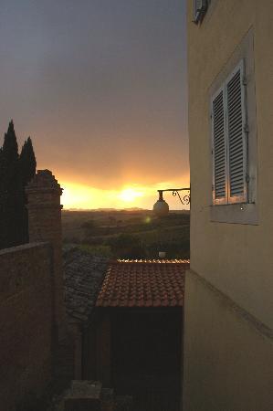 Villa Curina: One sunset