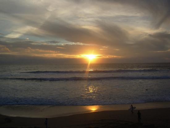 Newquay International Backpackers: Fistral Beach Sunset