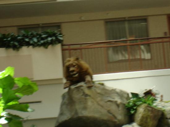 Lion Picture Of Embassy Suites By Hilton Anaheim South Garden Grove Tripadvisor