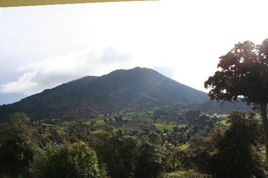 Turrialba, كوستاريكا: Vista del volcán