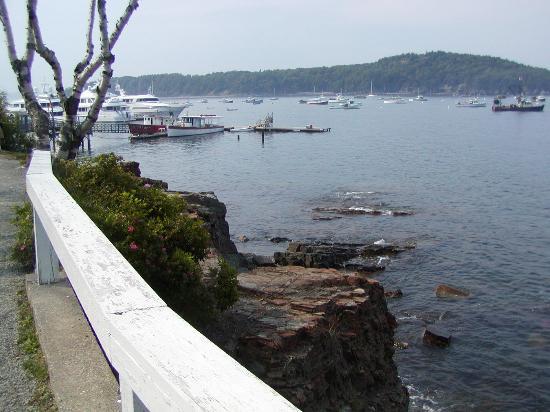 Ocean Trail: Entering harbor area