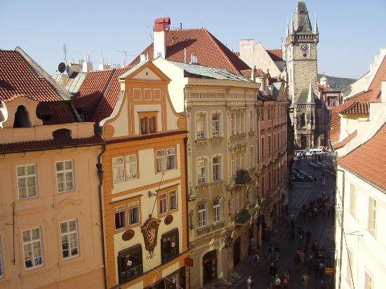 Ventana Hotel Prague : View from our window